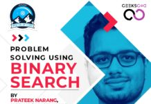 Binary search algorithm workshop